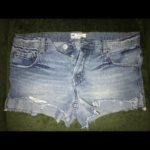 Free People Shorts, Excellent Condition